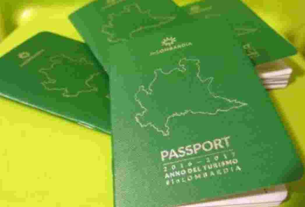 Anche il MUST nel Passaporto inLOMBARDIA