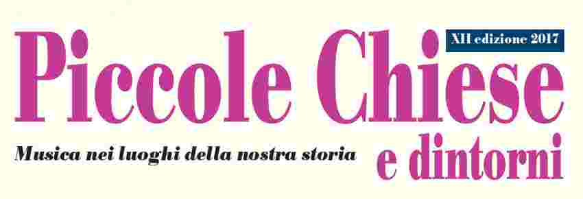 PICCOLE CHIESE - ALLIEVI MASTERCLASS 2016