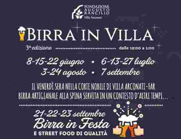 Birra in Villa