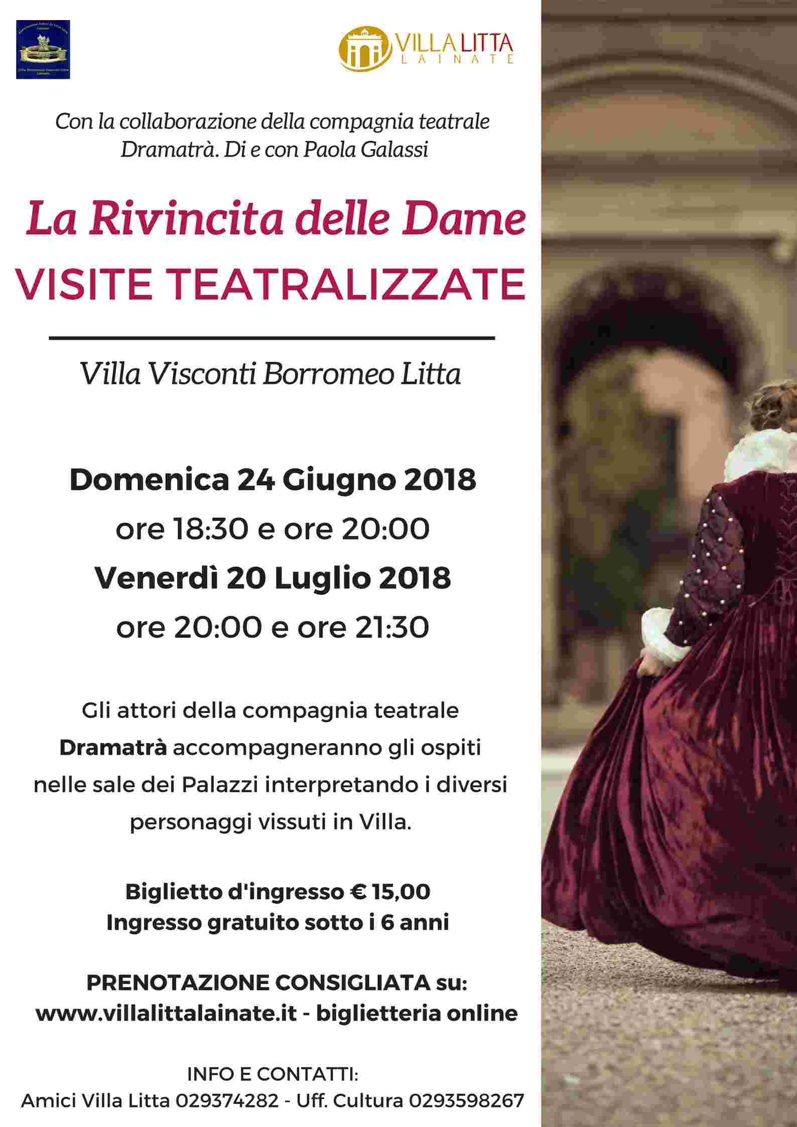 """""""La Rivincita delle Dame"""